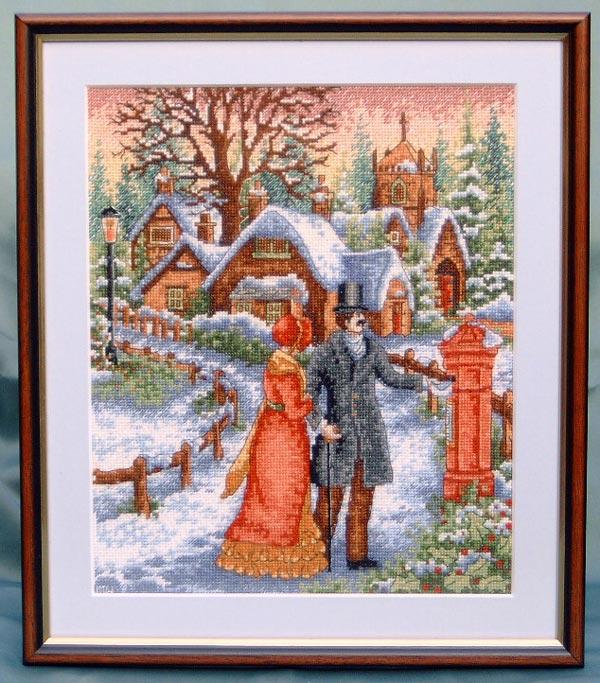 victorian christmas scenes - photo #49